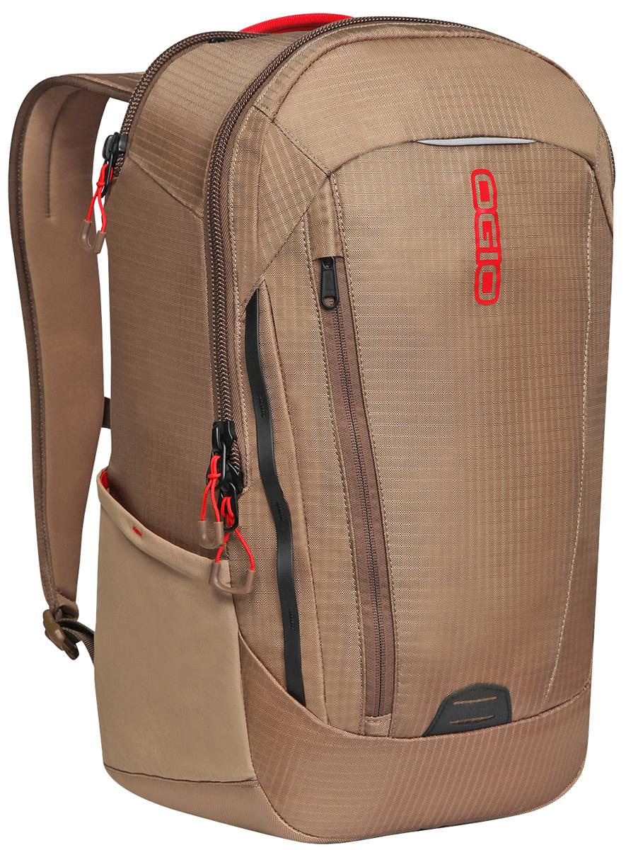 Рюкзак городской Ogio Apollo Pack, цвет: хаки, красный , 20 л