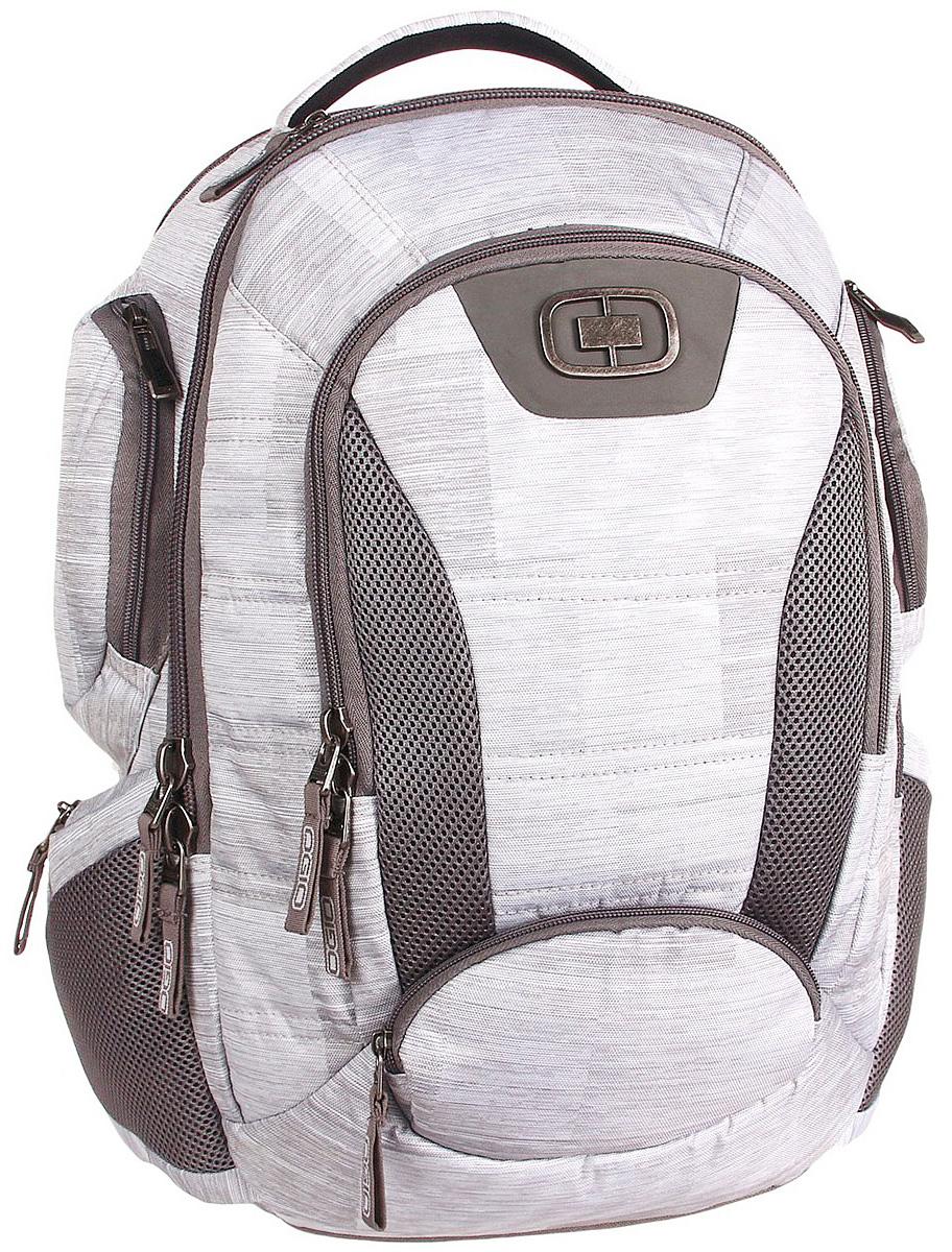 Рюкзак городской Ogio Bandit Pack, цвет: мультиколор, 28 л111074-323OGIO – высокотехнологичный продукт от американского производителя. Вместимые сумки для путешествий, работы и отдыха, специальная коллекция городских сумок для женщин, жесткие боксы под мелкий инвентарь и многое другое. Ogio Bandit Backpack - функциональная модель, способная вместить большое кол-во вещей и обеспечить безопасность любимым гаджетам. Рюкзак соответствует всем современным требованиям качественного и практичного изделия, обладает высокой вместительностью и продуманной системой организации пространства.