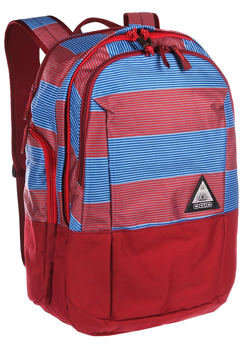 Рюкзак городской Ogio Clark Pack, цвет: красный, синий , 30 л111104-556OGIO – высокотехнологичный продукт от американского производителя. Вместимые сумки для путешествий, работы и отдыха, специальная коллекция городских сумок для женщин, жесткие боксы под мелкий инвентарь и многое другое. Стильный и в то же время функциональный рюкзак от Ogio. Имеются специализированные отсеки для ноутбука и планшета, которые позволят Вам не переживать за сохранность техники. Большое основное отделение вместит все необходимые вещи.