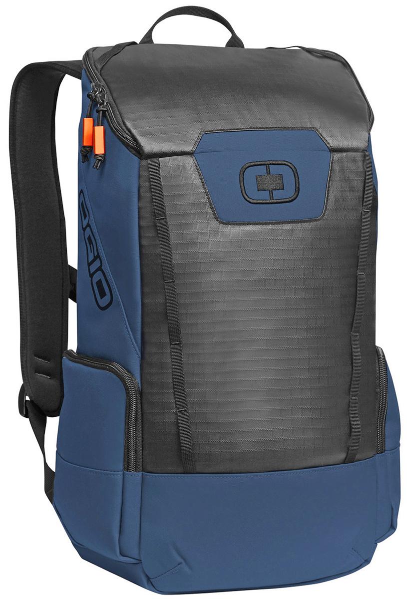 Рюкзак городской Ogio Clutch Pack, цвет: голубой , 21 л123011-113OGIO – высокотехнологичный продукт от американского производителя. Вместимые сумки для путешествий, работы и отдыха, специальная коллекция городских сумок для женщин, жесткие боксы под мелкий инвентарь и многое другое.Легкий и вместительный рюкзак с приятным дизайном от OGIO. Ваш ноутбук надежно крепится в мягкий чехол, оставляя необходимое пространство для других вещей, снаружи предусмотрены боковые карманы, которые будут полезны для хранения фотоаппарата, зарядки или других полезных аксессуаров. Удобные регулируемые лямки с дополнительным нагрудным ремнем помогут равномерно распределить нагрузку.