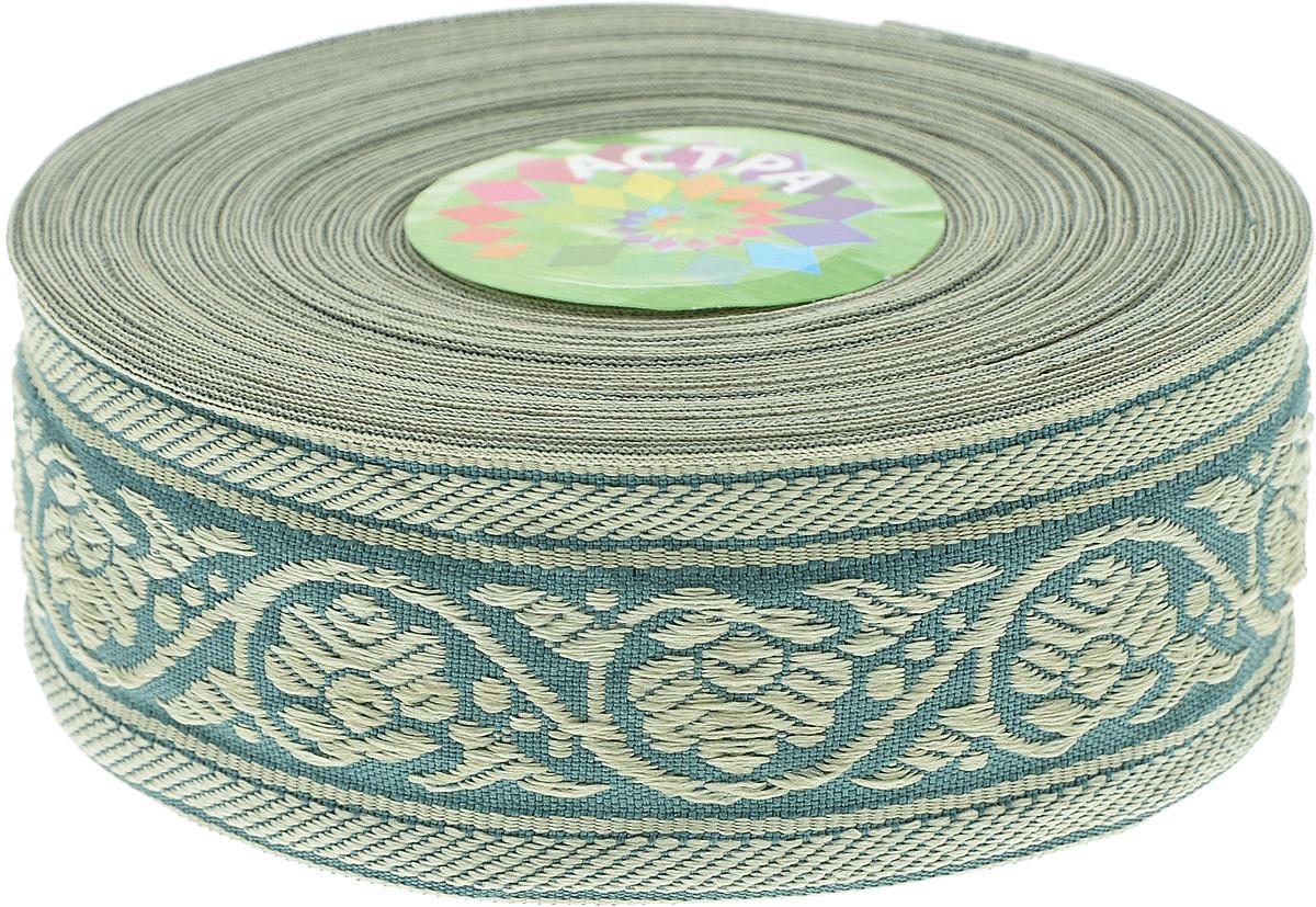 Тесьма декоративная Астра, цвет: зеленый (172/170L), ширина 3,5 см, длина 16,4 м. 77033487703348_172/170LДекоративная тесьма Астра выполнена из текстиля и оформлена оригинальным орнаментом. Такая тесьма идеально подойдет для оформления различных творческих работ таких, как скрапбукинг, аппликация, декор коробок и открыток и многое другое. Тесьма наивысшего качества и практична в использовании. Она станет незаменимым элементом в создании рукотворного шедевра. Ширина: 3,5 см. Длина: 16,4 м.