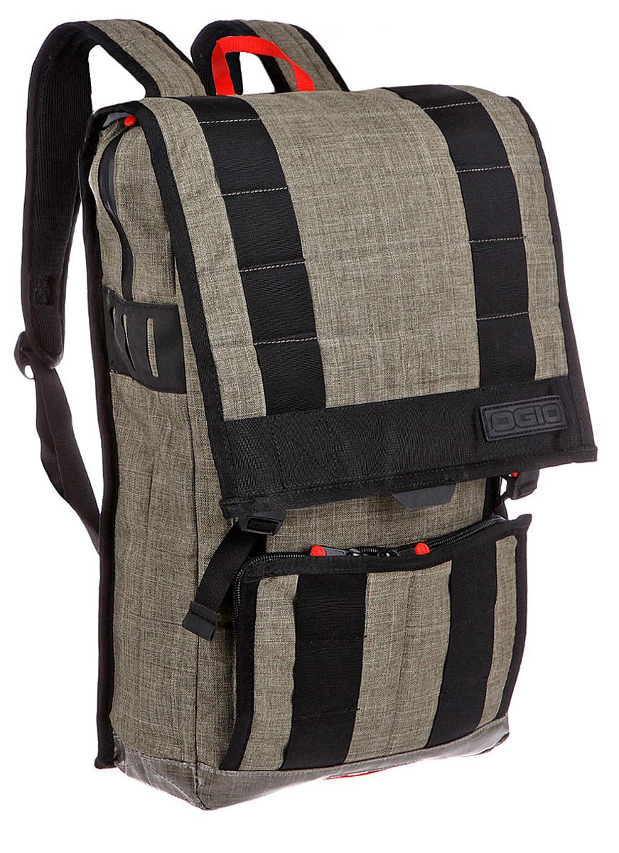 Рюкзак городской Ogio Commuter Pack, цвет: оливковый, хаки , 22 л112040-379OGIO – высокотехнологичный продукт от американского производителя. Вместимые сумки для путешествий, работы и отдыха, специальная коллекция городских сумок для женщин, жесткие боксы под мелкий инвентарь и многое другое.Стильный дизайн, отменно продуманное пространство для хранения: с рюкзаком Commuter Pack удобно перемещаться по городу как пешком, так и на велосипеде благодаря эргономичный вентилируемой спинке и удобным лямкам с поперечным ремешком. Отдельные карманы для iPad и iPad Mini, внутренний отдельный отсек для 15-дюймового ноутбука, внешний карман-органайзер на молнии