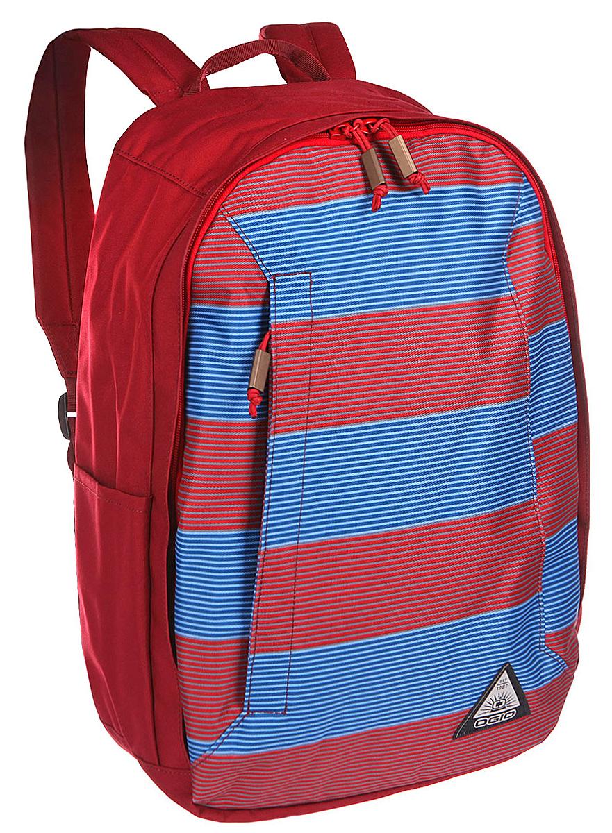 Рюкзак городской Ogio Lewis Pack, цвет: красный, синий , 23 л111103-556OGIO – высокотехнологичный продукт от американского производителя. Вместимые сумки для путешествий, работы и отдыха, специальная коллекция городских сумок для женщин, жесткие боксы под мелкий инвентарь и многое другое. Компактный, но при этом достаточно вместительный рюкзак от Ogio. Имеется специализированный отсек для ноутбука а также уплотненный карман для ценных вещей на молнии. Внешний передний и боковой карманы на вертикальной молнии обеспечивают быстрый доступ к содержимому, позволяя всегда держать необходимые аксессуары и документы поблизости.