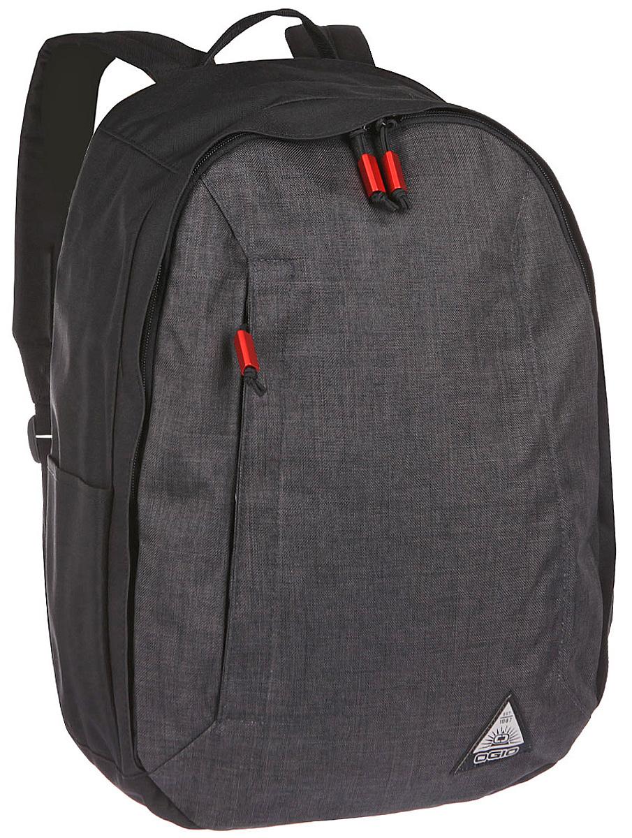 Рюкзак городской Ogio Lewis Pack, цвет: серый , 23 л111103-40OGIO – высокотехнологичный продукт от американского производителя. Вместимые сумки для путешествий, работы и отдыха, специальная коллекция городских сумок для женщин, жесткие боксы под мелкий инвентарь и многое другое. Компактный, но при этом достаточно вместительный рюкзак от Ogio. Имеется специализированный отсек для ноутбука а также уплотненный карман для ценных вещей на молнии. Внешний передний и боковой карманы на вертикальной молнии обеспечивают быстрый доступ к содержимому, позволяя всегда держать необходимые аксессуары и документы поблизости.