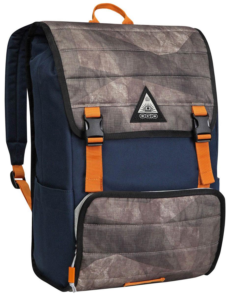 Рюкзак городской Ogio Ruck 20 Pack, цвет: синий, милитари , 21 л111090-418OGIO – высокотехнологичный продукт от американского производителя. Вместимые сумки для путешествий, работы и отдыха, специальная коллекция городских сумок для женщин, жесткие боксы под мелкий инвентарь и многое другое. Компактный городской рюкзак с продуманным внутренним пространством и городским функционалом: отдельный отсек для 17-дюймового ноутбука, карман на молнии для планшета и внешний отсек для небольших гаджетов.