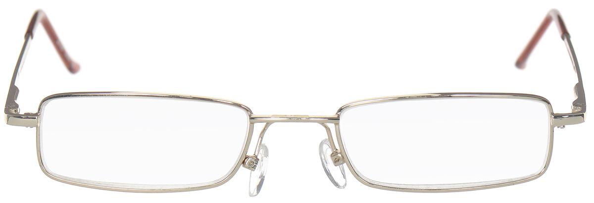 Proffi Home Очки корригирующие (для чтения) 5097 Elife +1.50, цвет: золотойPH5500Корригирующие очки, это очки которые направлены непосредственно на коррекцию зрения. Готовые очки для чтения с минусовыми и плюсовыми диоптриями (от -2,5 до + 4,00), не требующие рецепта врача. За счет технологически упрощенной конструкции и отсуствию этапа изготовления линз по индивидуальным параметрам - экономичный готовый вариант для людей, пользующихся очками нечасто, в основном, для чтения.