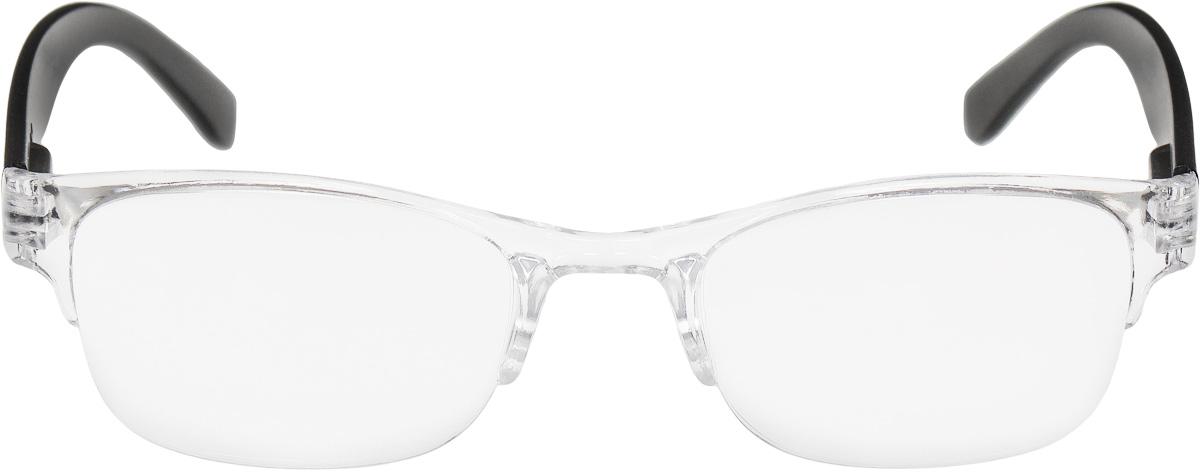 Proffi Home Очки корригирующие (для чтения) 322 Fabia Monti +2.00, цвет: прозрачныйPH5519Корригирующие очки, это очки которые направлены непосредственно на коррекцию зрения. Готовые очки для чтения с минусовыми и плюсовыми диоптриями (от -2,5 до + 4,00), не требующие рецепта врача. За счет технологически упрощенной конструкции и отсуствию этапа изготовления линз по индивидуальным параметрам - экономичный готовый вариант для людей, пользующихся очками нечасто, в основном, для чтения.