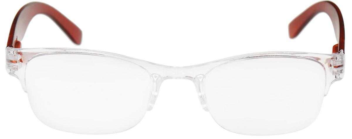 Proffi Home Очки корригирующие (для чтения) 322 Fabia Monti +0.75, цвет: прозрачныйPH5535Корригирующие очки, это очки которые направлены непосредственно на коррекцию зрения. Готовые очки для чтения с минусовыми и плюсовыми диоптриями (от -2,5 до + 4,00), не требующие рецепта врача. За счет технологически упрощенной конструкции и отсуствию этапа изготовления линз по индивидуальным параметрам - экономичный готовый вариант для людей, пользующихся очками нечасто, в основном, для чтения.