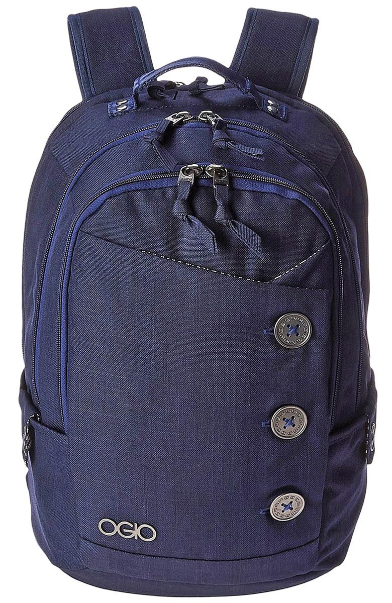 Рюкзак городской Ogio Soho Pack, цвет: серо-голубой , 22 л114004-337OGIO – высокотехнологичный продукт от американского производителя. Вместимые сумки для путешествий, работы и отдыха, специальная коллекция городских сумок для женщин, жесткие боксы под мелкий инвентарь и многое другое.