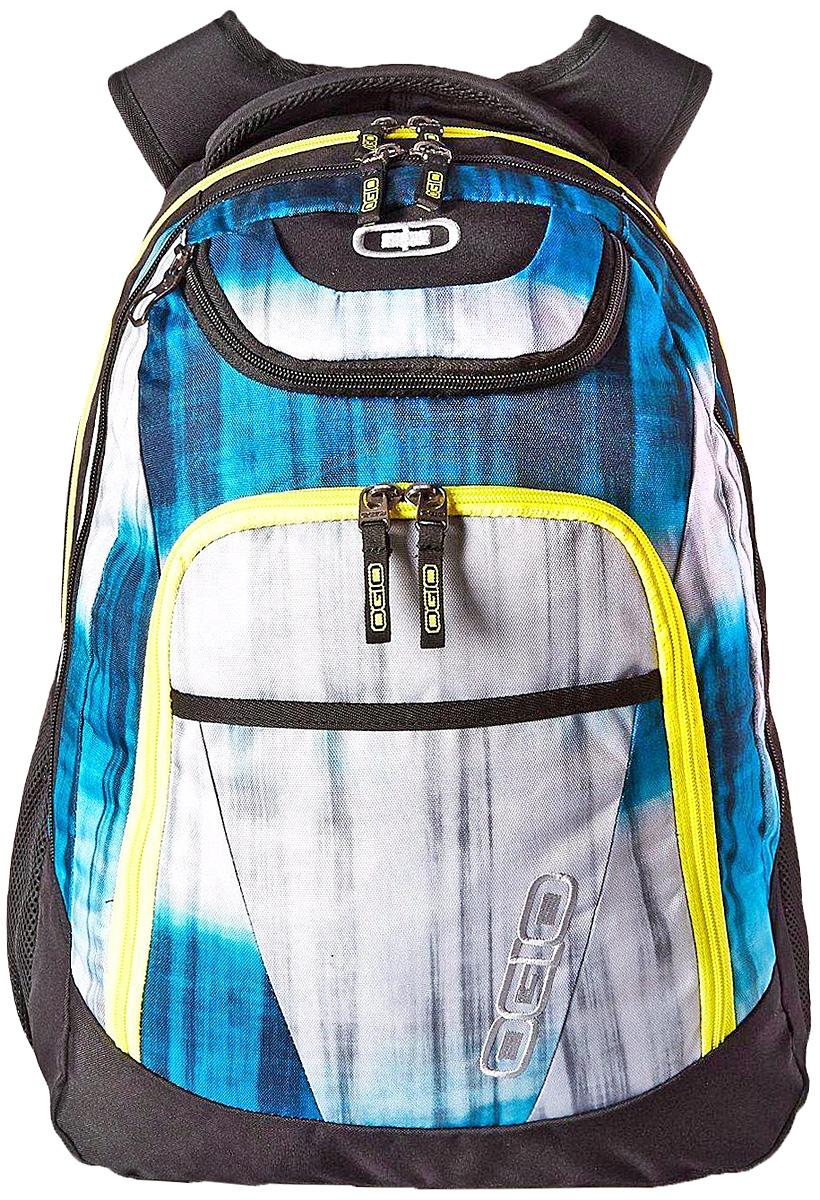Рюкзак городской Ogio Tribune Pack, цвет: серый, синий, черный, 40 л111078-566OGIO – высокотехнологичный продукт от американского производителя. Вместимые сумки для путешествий, работы и отдыха, специальная коллекция городских сумок для женщин, жесткие боксы под мелкий инвентарь и многое другое. Городской рюкзак с множеством карманов создан для любителей порядка и для тех, кто устал тратить время на поиски важных мелочей сумках с одним единственным отсеком. Возьмите Tribune Pack на загородную прогулку и наслаждайтесь вместительностью и удобством доступа к бутылкам с водой в боковых сетчатых карманах, в поездке Вас несомненно порадует удобный отсек для гаджетов, готовый сохранить Ваш ноутбук и планшет в целости. С этим рюкзаком удобно ходить на учебу благодаря продуманному внешнему карману-органайзеру с множеством отделений для канцелярских принадлежностей и вместительному основному отсеку.
