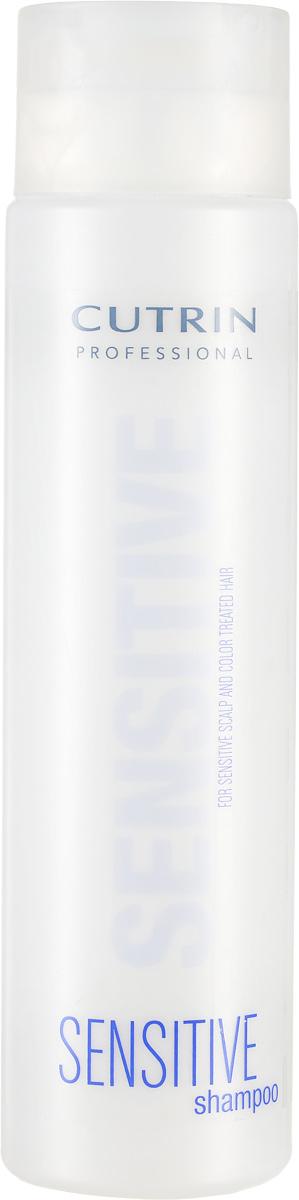 Cutrin Шампунь для окрашенных волос и чувствительной кожи головы Sensitive Shampoo Color Treated Hair And Sensitive Scalp, 300 млCUC02-12680Подходит для ежедневного использования. Содержит экстракт льна, который успокаивает и смягчает кожу головы, ухаживает за волосами. Поддерживает насыщенность цвета окрашенных волос, придает восхитительный блеск.