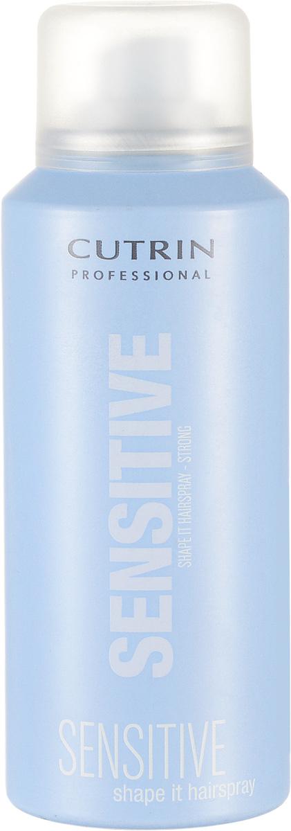 Cutrin Лак сильной фиксации Fragrance Free Shape It Hair Spray Strong, без отдушки, 100 мл12691Мгновенно высыхает, легко удаляется при расчесывании. Входящий в состав продукта пантенол обспечивает дополнительный ухаживающий эффект, защищает от негативных внешних факторов. За счет отсутствия отдушки не оказывает раздражающего воздействия на органы дыхания.