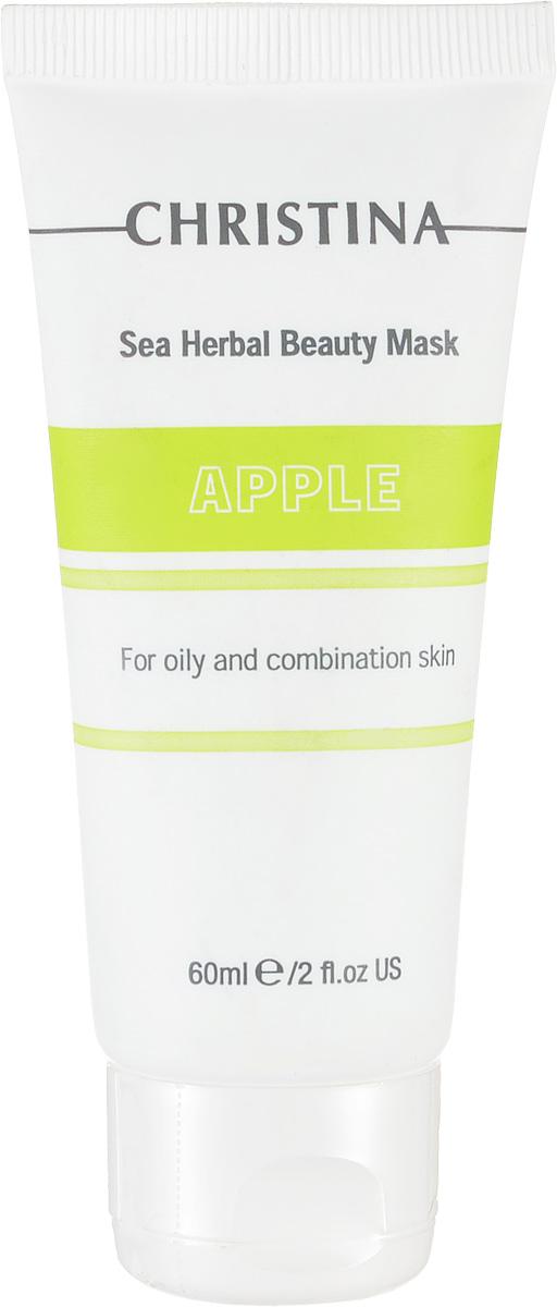 Christina Яблочная маска красоты для жирной и комбинированной кожи Sea Herbal Beauty Mask Green Apple 60 млM-583Яблочная маска красоты для жирной и комбинированной кожи Christina Sea Herbal Beauty Mask Green Apple обеспечит увлажнение дегидрированной коже. Не содержащая жиров формула объединила в себе успокаивающие растительные ингредиенты и высокоактивные гидрирующие вещества, которые оказывают оживляющее, освежающее и обновляющее действия на усталую кожу. Яблочная маска красоты для жирной и комбинированной кожи Christina содержит фруктовые кислоты, добываемые из яблока, которые улучшают текстуру кожи и препятствуют появлению признаков старения. Маска не высыхает, обладает кремообразной консистенцией и обеспечивает постоянный питательный эффект.