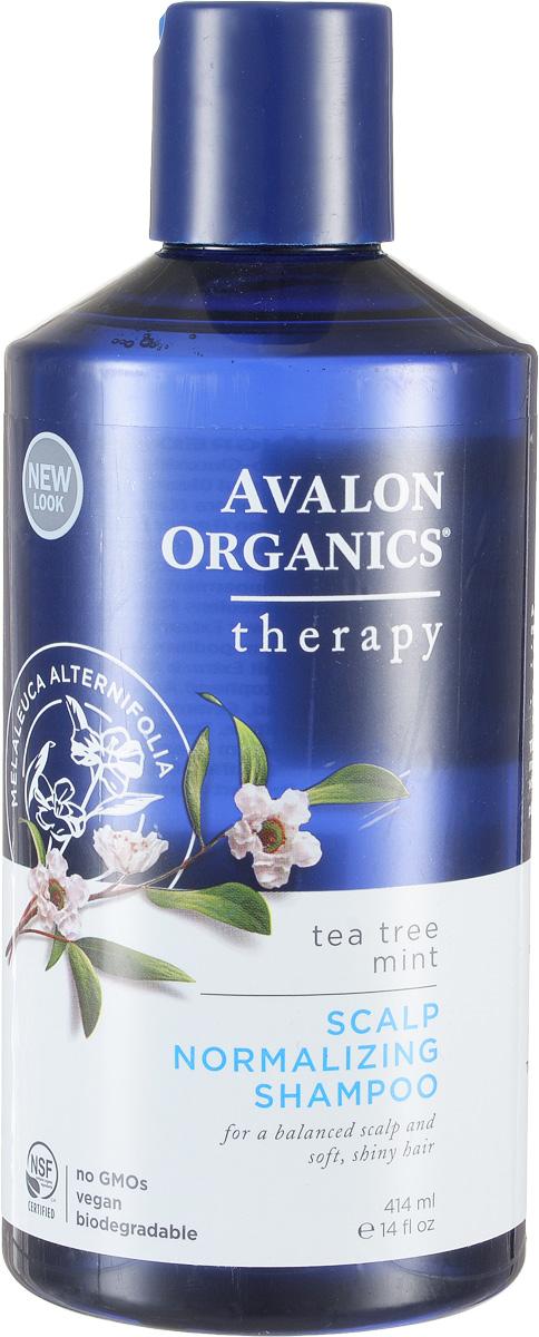 Avalon Organics Нормализующий шампунь Чайное дерево и мята, 400 млAV36105Сбалансированность моющей формулы растительного происхождения обеспечивает оптимальное очищение с восстановлением гидро-липидного баланса и укреплением кутикулы волос. Сертифицированный органический комплекс, с рекордным количеством целебных масел и экстрактов, стабилизирует работу сальных желез, оказывает противовоспалительное, антибактериальное и противогрибковое действие. Устраняет раздражение, перхоть и препятствует развитию себореи. Характеристики: Объем: 400 мл. Артикул: AV36105. Производитель: США. Товар сертифицирован.
