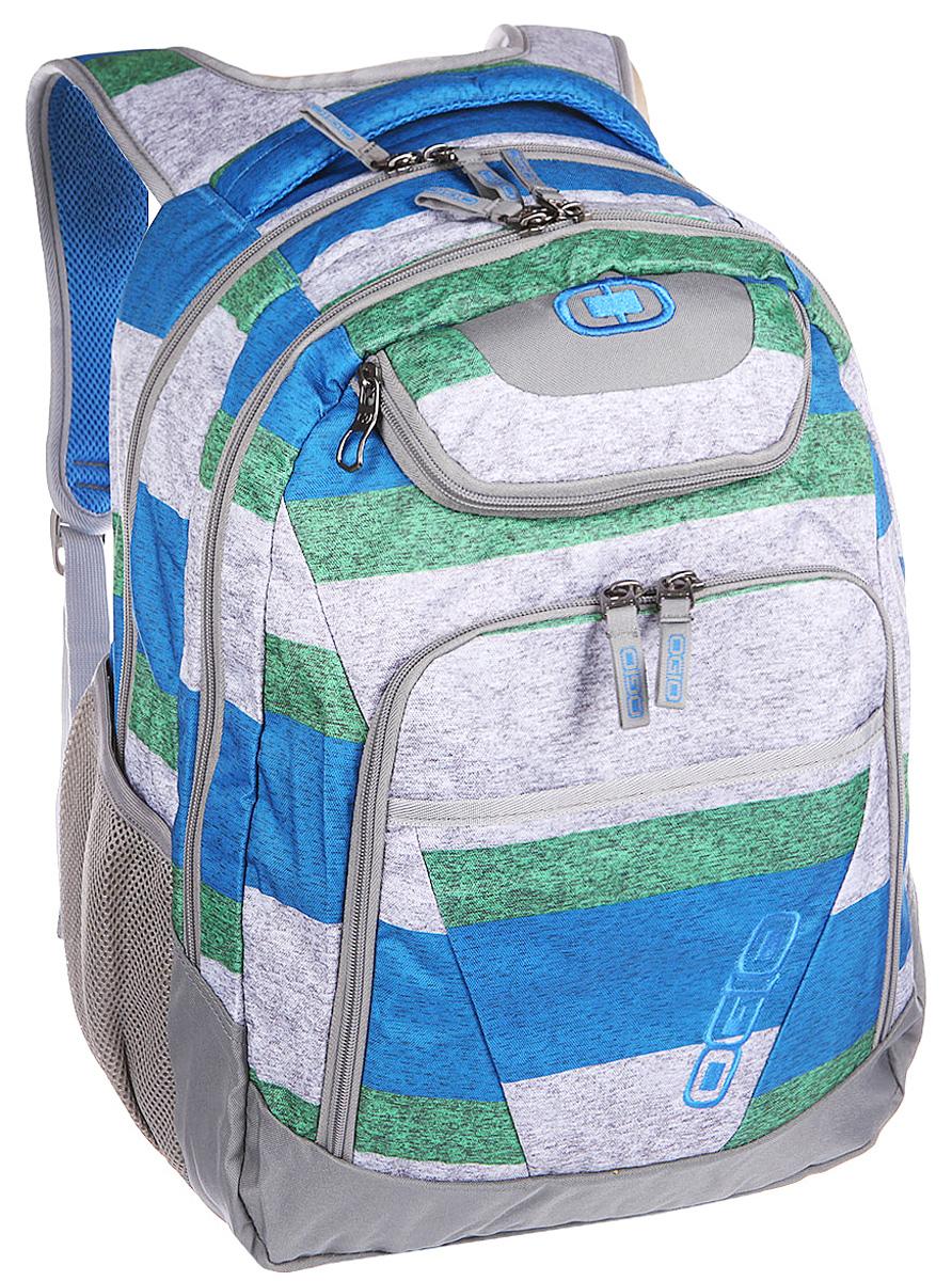 Рюкзак городской Ogio Tribune Pack, цвет: серый, зеленый, 40 л