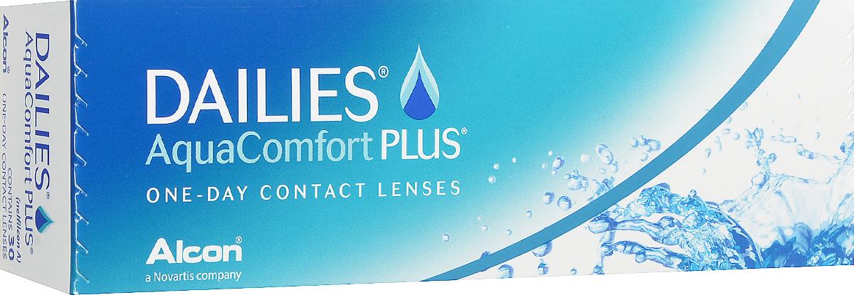 Alcon-CIBA Vision контактные линзы Dailies AquaComfort Plus (30шт / 8.7 / 14.0 / -5.50)38459Dailies AquaComfort Plus - это одни из самых популярных однодневных линз производства компании Ciba Vision. Эти линзы пользуются огромной популярностью во всем мире и являются на сегодняшний день самыми безопасными контактными линзами. Изготавливаются линзы из современного, 100% безопасного материала нелфилкон А. Особенность этого материала в том, что он легко пропускает воздух и хорошо сохраняет влагу. Однодневные контактные линзы Dailies AquaComfort Plus не нуждаются в дополнительном уходе и затратах, каждый день вы надеваете свежую пару линз. Дизайн линзы биосовместимый, что гарантирует безупречный комфорт. Самое главное достоинство Dailies AquaComfort Plus - это их уникальная система увлажнения. Благодаря этой разработке линзы увлажняются тремя различными агентами. Первый компонент, ухаживающий за линзами, находится в растворе, он как бы обволакивает линзу, обеспечивая чрезвычайно комфортное надевание. Второй агент выделяется на протяжении всего дня, он...