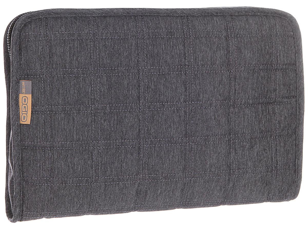 Чехол для планшета Ogio Newt Tablet Sleeve Pro, цвет: темно-серый, 3 л117056-437OGIO – высокотехнологичный продукт от американского производителя. Вместимые сумки для путешествий, работы и отдыха, специальная коллекция городских сумок для женщин, жесткие боксы под мелкий инвентарь и многое другое. Чехол Ogio Newt Tablet Sleeve Pro подходит для большинства 10-дюймовых планшетов. Он позаботится о надежной и безопасной транспортировке Вашего электронного друга и порадует приятным стеганным дизайном.
