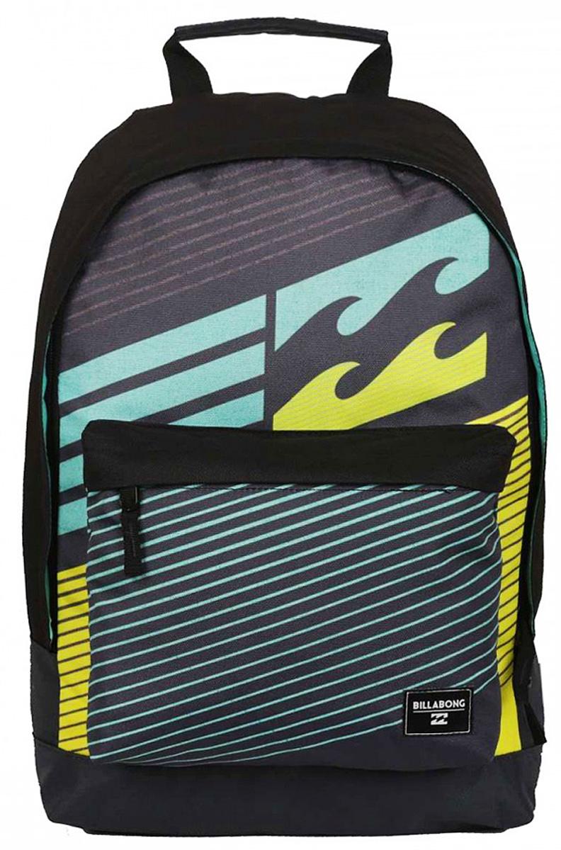 Рюкзак городской Billabong All Day, цвет: серый, 20 лU5BP01Практичный вместительный рюкзак, готовый вписаться в Ваш стиль и вместить все Ваши вещи, необходимые для учебы, работы или просто прогулок по городу.