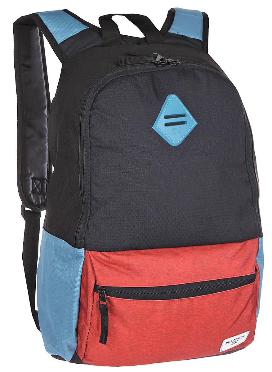 Рюкзак городской Billabong Atom, цвет: коралловый , 20 лU5BP03Практичный рюкзак, простой, не громоздкий, но при этом достаточно вместительный. Внутренние карманы для ноутбука и документов позволят удобно разложить важнейшие вещи, не требуя большого количества отсеков рюкзака.