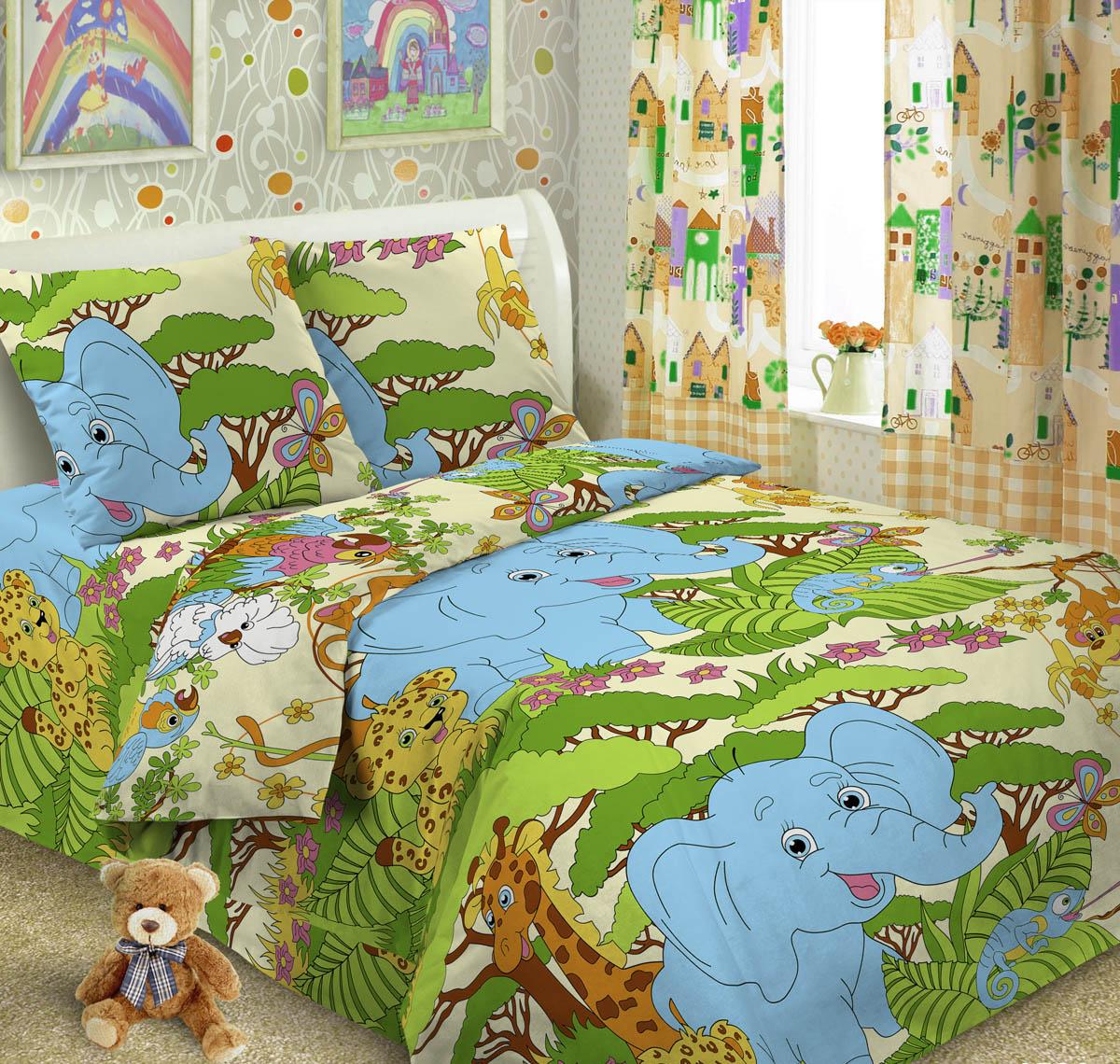 Letto Комплект детского постельного белья Джунгли