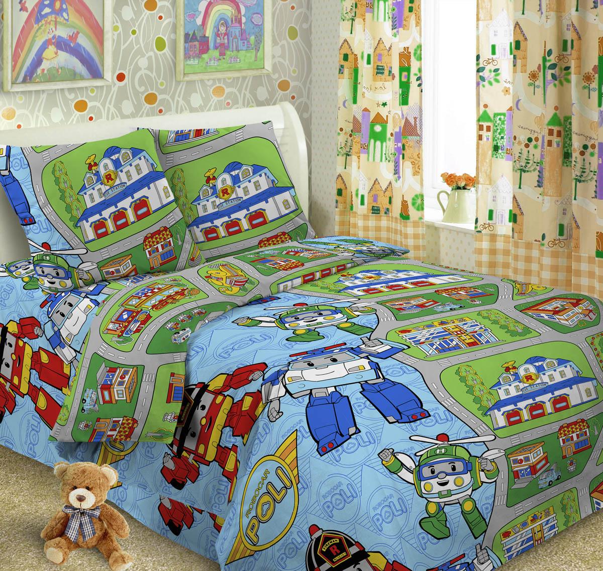 Letto Комплект детского постельного белья Робот