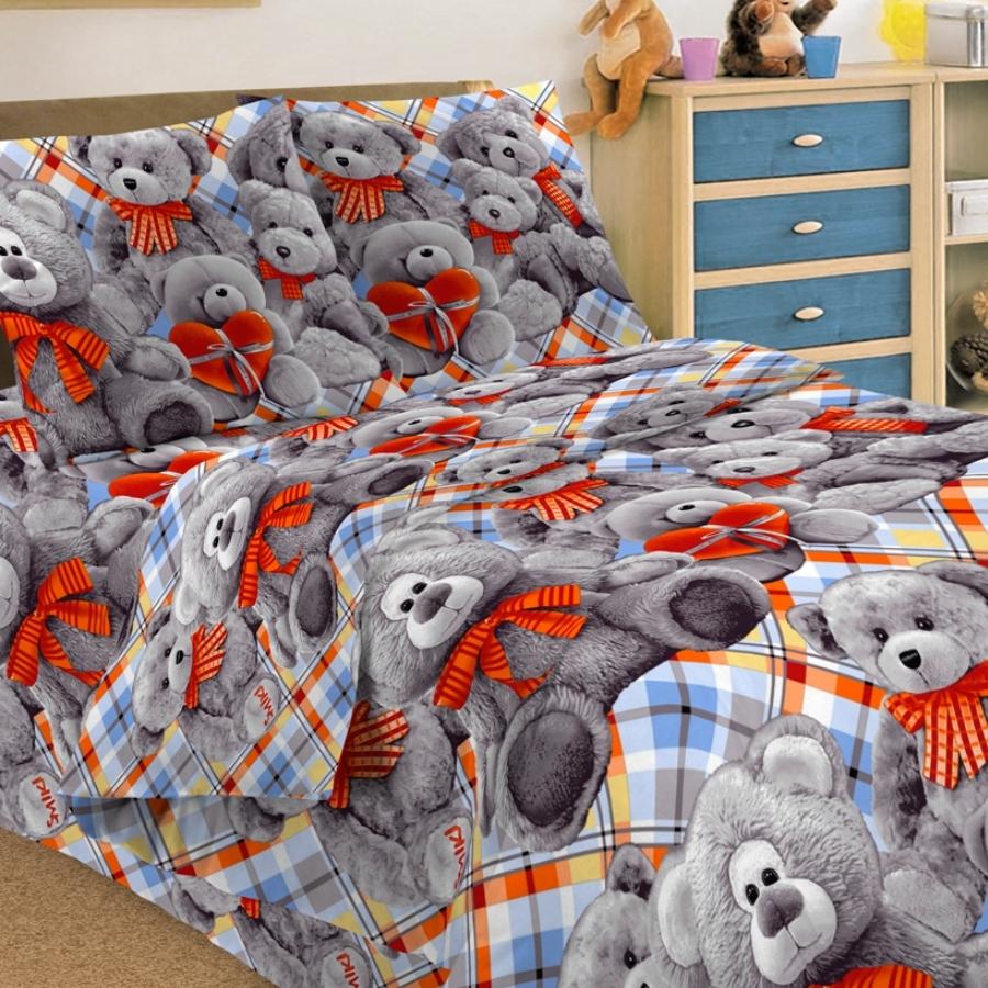 Letto Комплект детского постельного белья Тэдди