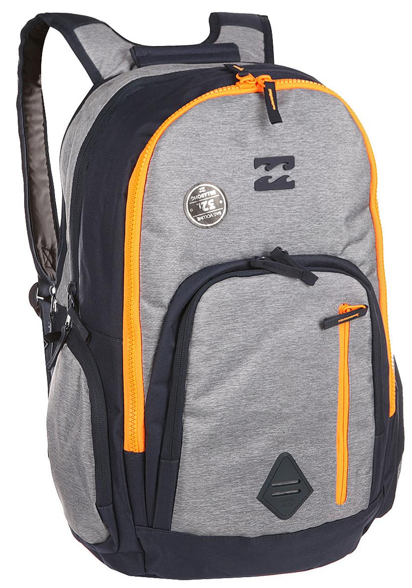 Рюкзак городской Billabong Command, цвет: светло-серый , 35 лW5BP05Практичный рюкзак, выполненный из износостойких материалов, готовый служить Вам долгое время, сохраняя презентабельный внешний вид. Множество отделений делаю его очень вместительным и позволяют раскладывать вещи так, как Вам удобно. Мягкие вставки на задней панели и эргономичные плечевые лямки