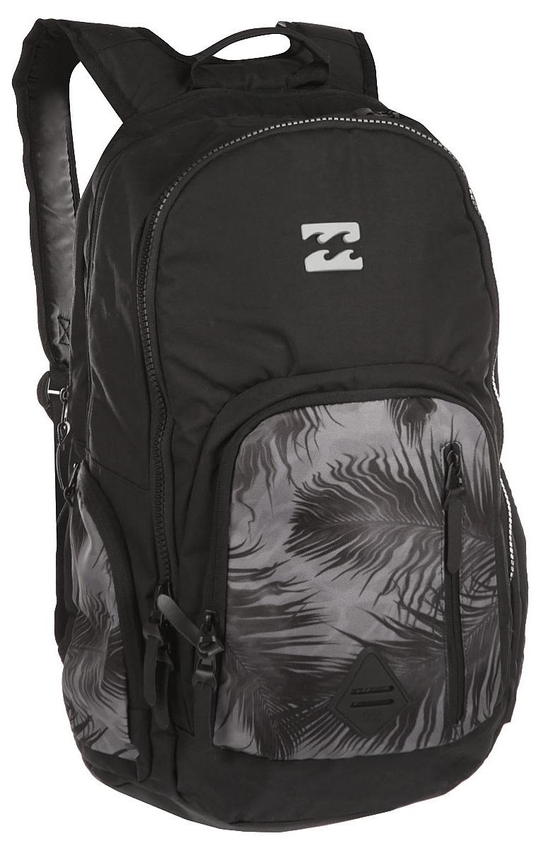 Рюкзак городской Billabong Command, цвет: черный, 35 лW5BP05Практичный рюкзак, выполненный из износостойких материалов, готовый служить Вам долгое время, сохраняя презентабельный внешний вид. Множество отделений делаю его очень вместительным и позволяют раскладывать вещи так, как Вам удобно. Мягкие вставки на задней панели и эргономичные плечевые лямки