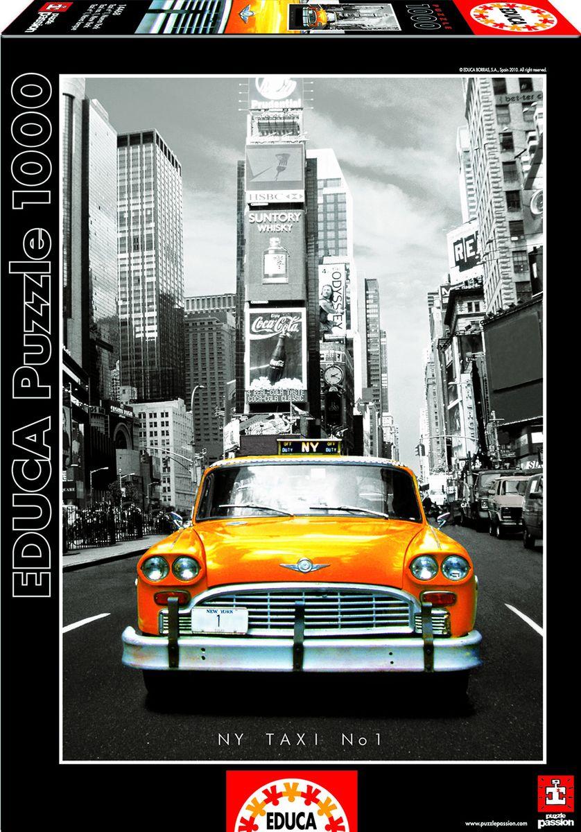 Educa Пазл Такси Нью-Йорк14468Пазл 1000 деталей - Такси, Нью-Йорк.Размер собранного пазла 68х48