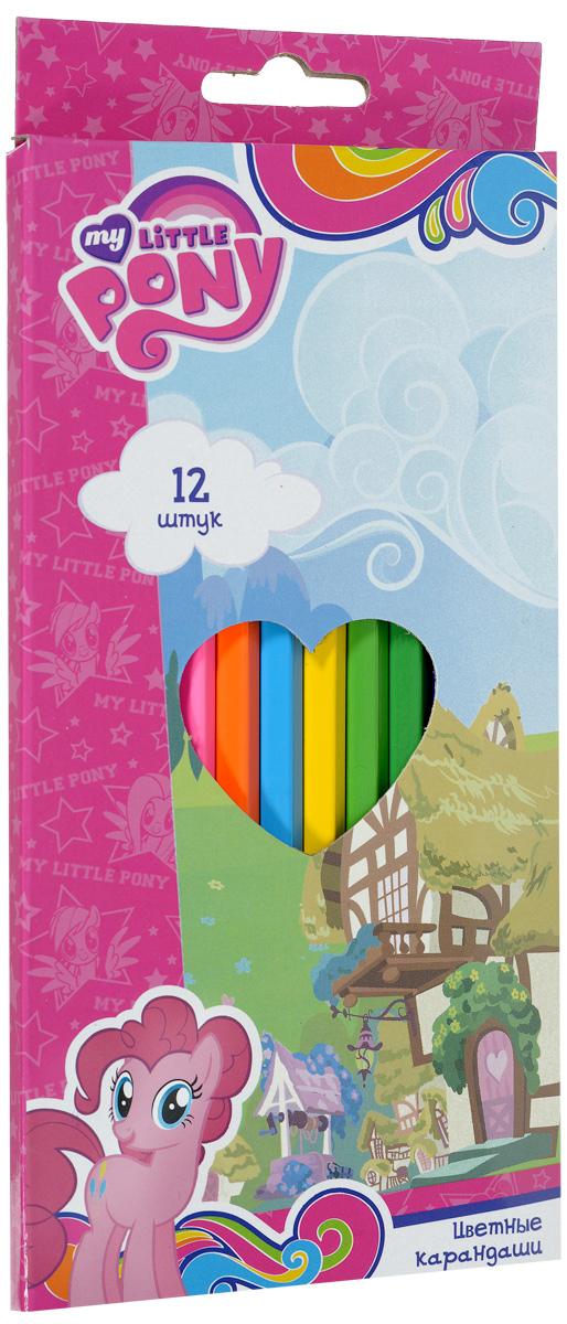 Proff Набор цветных карандашей My Little Pony 12 штLP16-BCL12Набор цветных карандашей Proff My Little Pony наполнит творческую жизнь вашего ребенка яркими и необычными цветами. Карандаши имеют высококачественный ударопрочный грифель, легко затачиваются в любой точилке, оформлены многократной полировкой и покраской корпуса. В наборе 12 цветных карандашей. С таким замечательным набором ваш ребенок будет находиться всегда в хорошем настроении.