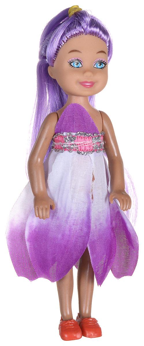 Shantou Мини-кукла Fashion Style цвет платья фиолетовый P870-H43276P870-H43276_фиолетовыйМини-кукла Shantou Fashion Style - очаровательная малышка-подружка для вашей дочурки. Кукла одета в фиолетовое платье, на ногах у нее коралловые туфельки. Длинные волосы куклы можно расчесывать и заплетать из них различные прически. Руки, ноги и голова куклы подвижные. Игры с куклой способствуют эмоциональному развитию ребенка, а также помогают формировать воображение и художественный вкус.