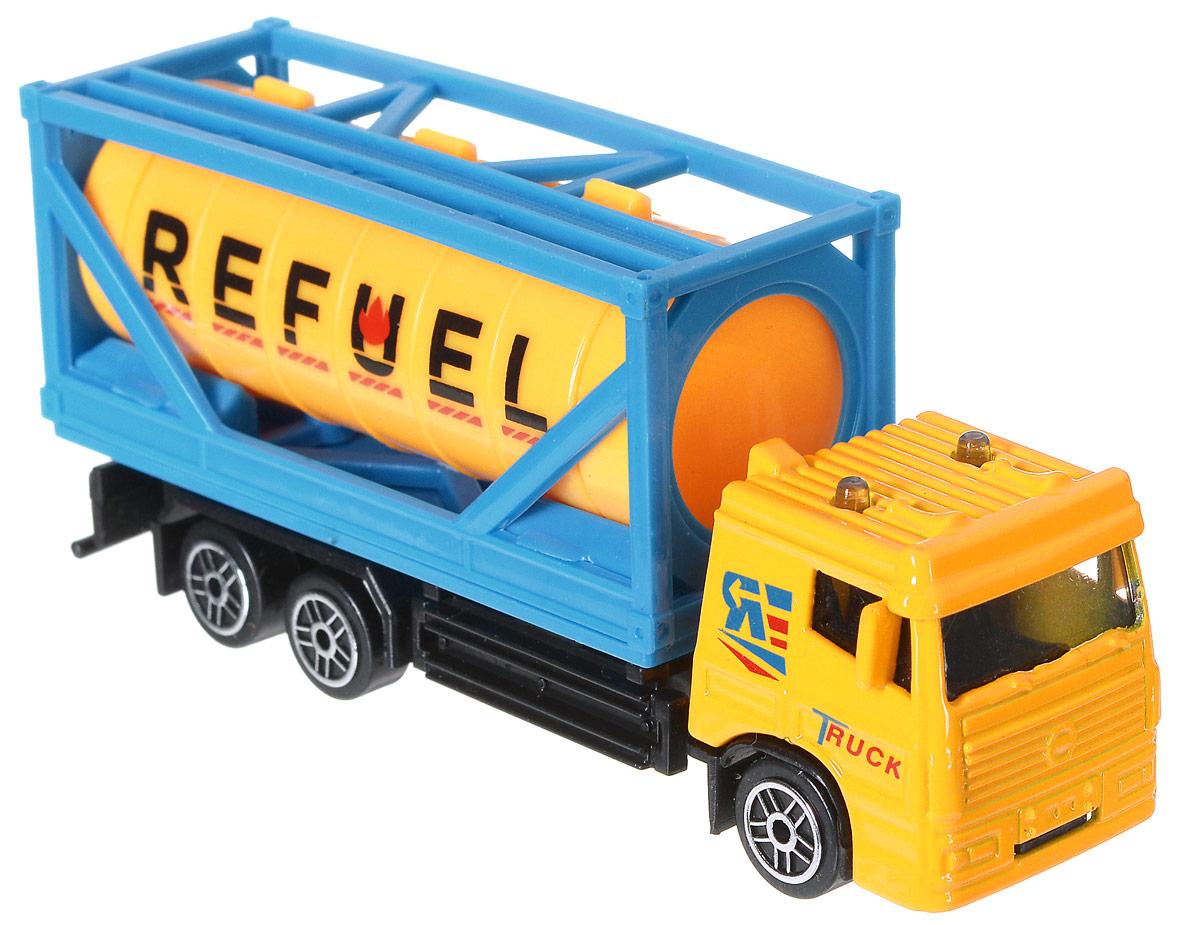 Shantou Машинка Refuel1602I006_REFUELМашинка Shantou Refuel - занимательная игрушка, представленная в виде грузового транспорта. Такая машинка прекрасно подойдет для игры как дома, так и на улице. Благодаря металлическим элементам этот автомобиль прочен и устойчив к ударам о препятствия. Изделие выполнено из безопасных для ребенка материалов.