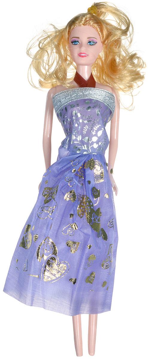 Shantou Кукла Angelic Girl цвет платья сиреневый