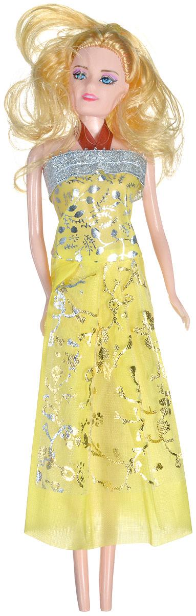 Shantou Кукла Angelic Girl цвет платья желтый