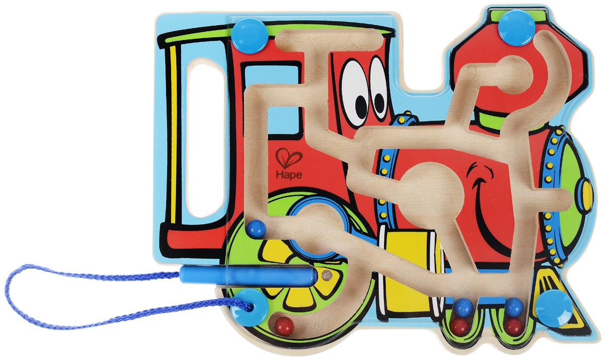 Hape Развивающая игрушка Паровозик-лабиринт