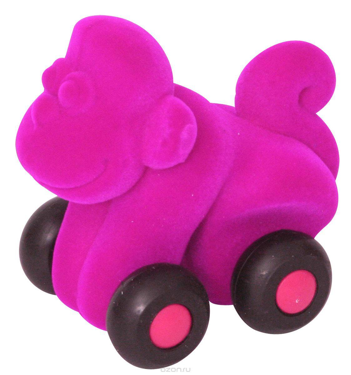 Rubbabu Фигурка функциональная Обезьяна цвет пурпурный20093_малиновыйФункциональная фигурка Rubbabu Обезьяна надолго увлечет вашего кроху! Она изготовлена из качественных и безопасных для детского здоровья материалов. Мягкую обезьянку с бархатистой поверхностью можно просто катать по полу, сминать и бросать. Благодаря своему компактному размеру, игрушка комфортно помещается в ручках малыша. А игры с ней способствуют развитию зрительного восприятия, мелкой моторики, координации и тактильных ощущений. Rubbabu - единственный в мире производитель товаров из натурального каучука с флокированной поверхностью, экологически чистого антибактериального гипоаллергенного материала, стойкого к пыли и плесени. Поставщик флокированного покрытия - швейцарская компания, краски для игрушек изготовлены из американского сырья. Игрушки Rubbabu абсолютно безопасны даже для самого маленького ребенка.