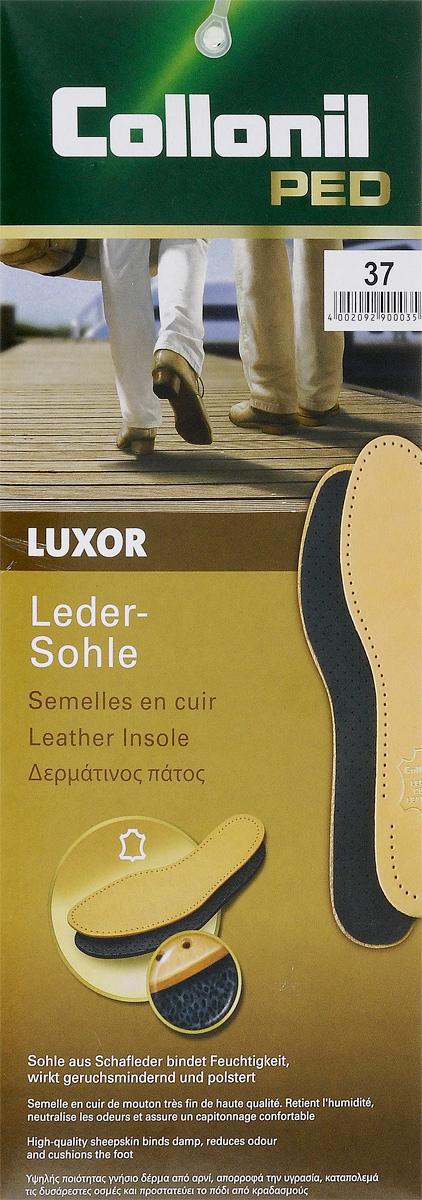 Стелька с латексной основой Collonil Luxor. Размер 379012 370Кожаная стелька с латексной основой и фильтром из активированного угля, впитывает влагу и нейтрализует запах