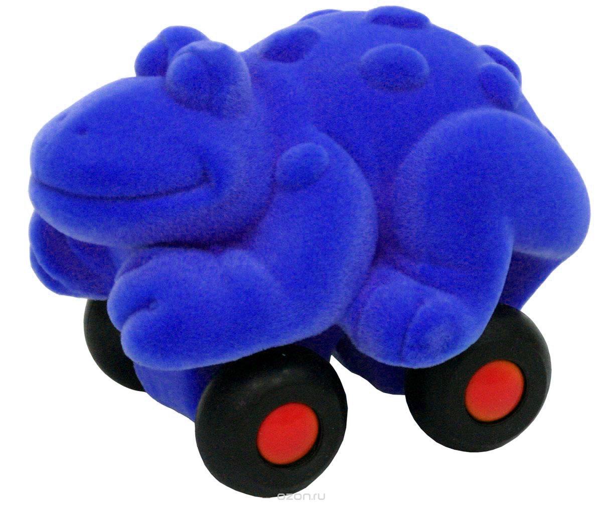 Rubbabu Фигурка функциональная Лягушка цвет синий 20086_синий