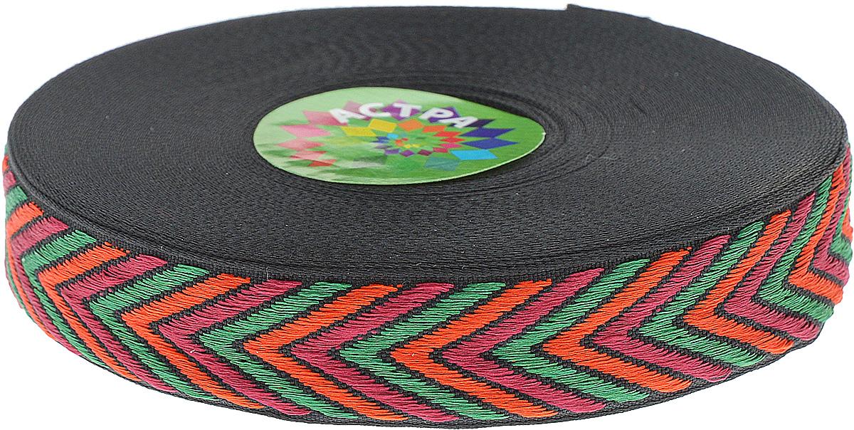 Тесьма декоративная Астра, цвет: темно-зеленый, оранжевый, красный (1), ширина 2,5 см, длина 16,4 м. 77033117703311_1Декоративная тесьма Астра выполнена из текстиля и оформлена оригинальным орнаментом. Такая тесьма идеально подойдет для оформления различных творческих работ таких, как скрапбукинг, аппликация, декор коробок и открыток и многое другое. Тесьма наивысшего качества и практична в использовании. Она станет незаменимым элементом в создании рукотворного шедевра. Ширина: 2,5 см. Длина: 16,4 м.
