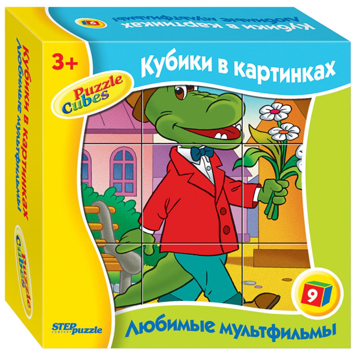 Step Puzzle Кубики Крокодил Гена87310С помощью кубиков Step Puzzle Крокодил Гена ребенок сможет собрать целых шесть красочных картинок с героями из любимых мультфильмов. Игра с кубиками развивает зрительное восприятие, наблюдательность, мелкую моторику рук и произвольные движения. Ребенок научится складывать целостный образ из частей, определять недостающие детали изображения. Это прекрасный комплект для развлечения и времяпрепровождения с пользой для малыша.
