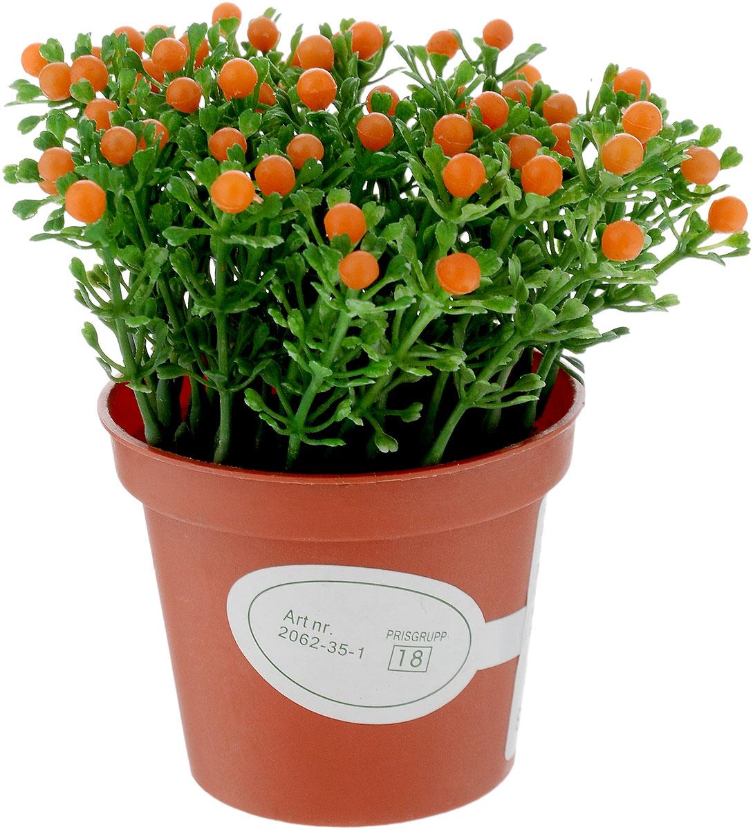 Растение искусственное для мини-сада Bloom`its, высота 11,5 см804833_зеленый, оранжевыйИскусственное растение Bloom`its поможет создать свой собственный мини-сад. Заниматься ландшафтным дизайном и декором теперь можно, даже если у вас нет своего загородного дома, причем не выходя из дома. Устройте себе удовольствие садовода, собирая миниатюрные фигурки и составляя из них различные композиции. Объедините миниатюрные изделия в емкости (керамический горшок, корзина, деревянный ящик или стеклянная посуда) и добавьте мини-растения. Это не только поможет увлекательно провести время, раскрывая ваше воображение и фантазию, результат работы станет стильным и необычным украшением интерьера.
