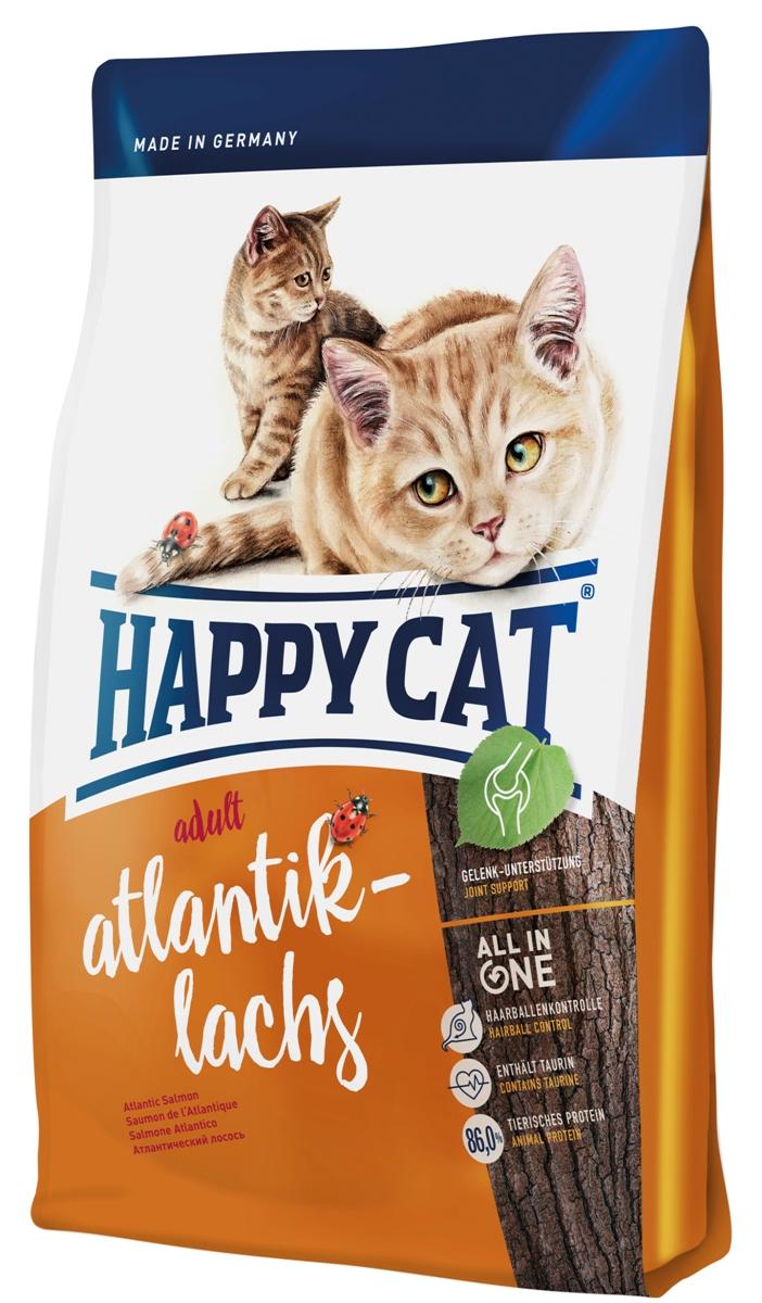 Корм сухой Happy Cat Adult для кошек с чувствительным пищеварением, атлантический лосось, 10 кг70196Сухой корм Happy Cat Adult обеспечивает маленького искателя приключении всеми важными питательными веществами, которые ему необходимы для уличных прогулок или для безудержной игры. Корм содержит легко усваиваемый лосось и птицу. Изысканная рецептура была специально разработана для кошек свободно гуляющих и активных кошек. Калорийность корма была адаптирована к физической активности. Состав: птица (18,5%), птичий жир, лосось (11%), рисовая мука, кукурузная мука, кукуруза, мясопродукты, картофельные хлопья, клетчатка, гемоглобин, свекольная пульпа, хлорид натрия, сухое цельное яйцо, дрожжи, хлорид калия, яблочная пульпа (0,4%), морские водоросли (0,2%), семя льна (0,2%), новозеландский моллюск (0,04%), корень цикория (0,04%), дрожжи (экстрагированные), расторопша, артишок, одуванчик, имбирь, березовый лист, крапива, ромашка, кориандр, розмарин, шалфей, корень солодки, тимьян (общий объем сухих трав: 0,18%). Аналитический состав:...