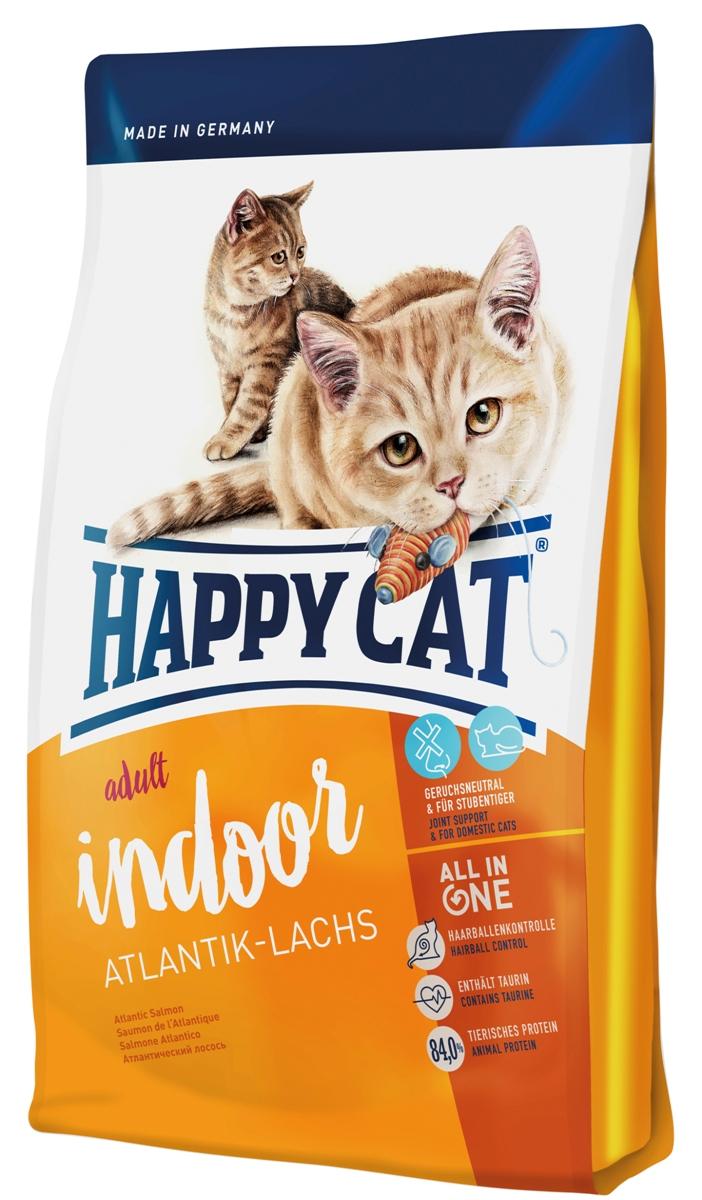 Корм сухой Happy Cat Adult Indoor для кошек с чувствительным пищеварением, атлантический лосось, 1,4 кг70212Корм Happy Cat Adult Indoor предлагает наслаждение вкусом, так как отборная рецептура была специально разработан для кошек живущих дома. Калорийность была приспособлена к потребностям кошек живущих исключительно дома. Корм содержит не только легко усваиваемый белок высококачественной рыбы и птицы но и природные Омега 3 и Омега 6, которые являются лучшим залогом сияющей шерсти и стальной иммунной системы кошки. Состав: птица (19%), лосось (11%), рисовая мука, кукуруза, кукурузная мука, птичий жир, картофельные хлопья, мясопродукты, клетчатка, гемоглобин, свекольная пульпа, хлорид натрия, сухое цельное яйцо, дрожжи, яблочная пульпа (0,4%), хлорид калия, морские водоросли (0,2%), семя льна (0,2%), Юкка Шидигера (0,04%), корень цикория (0,04%), дрожжи (экстрагированные), расторопша, артишок, одуванчик, имбирь, березовый лист, крапива, ромашка, кориандр, розмарин, шалфей, корень солодки, тимьян (общий объем сухих трав: 0,19%). ...