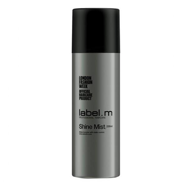 Label.m Блеск спрей, 200 млLFMI0200Универсальное средство для любого типа волос. Придает сияние окрашенным волосам. Нейтрализует статическое электричество. Защищает от УФ лучей.