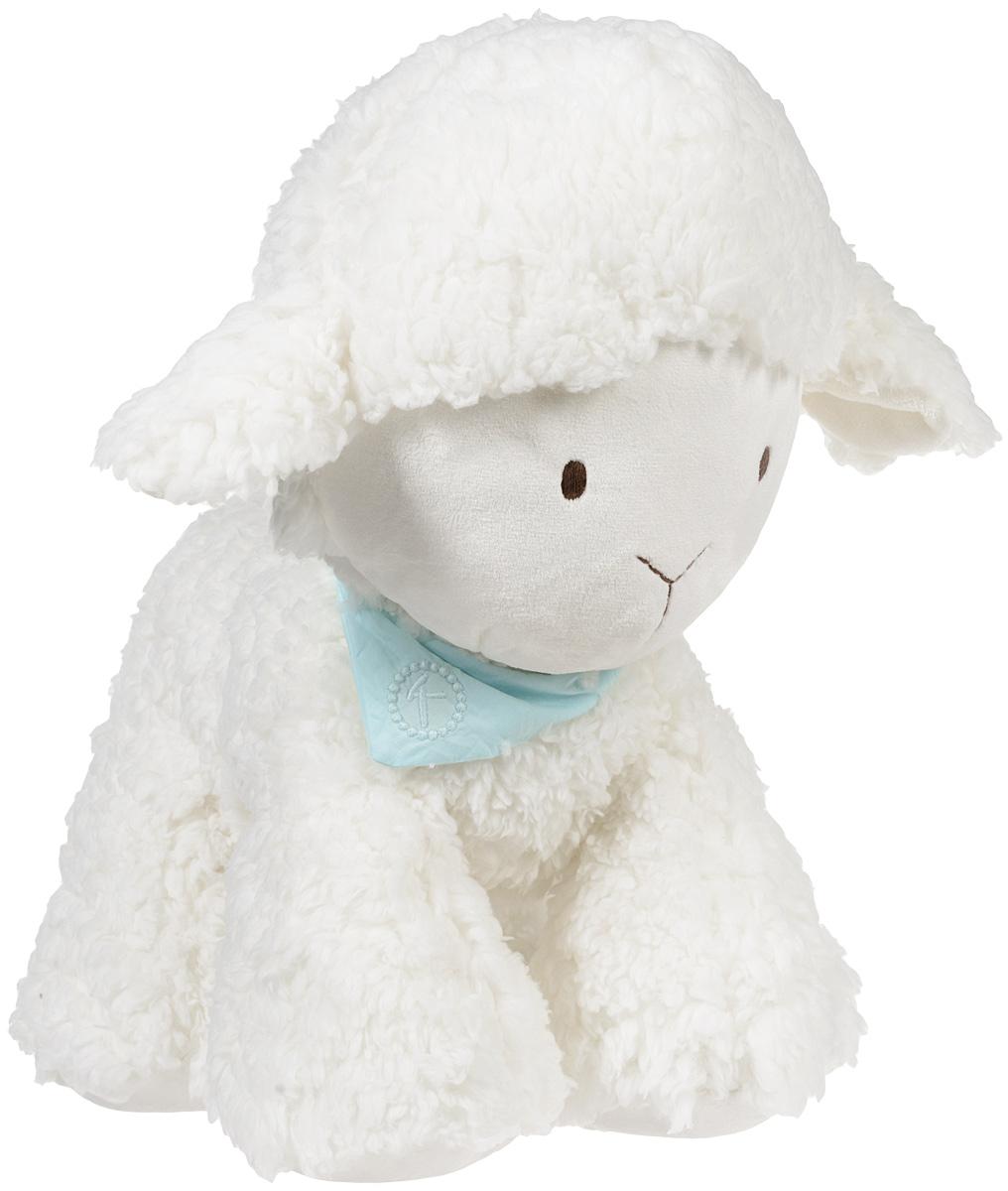 Kaloo Мягкая игрушка Овечка 45 смK963139Очаровательная мягкая игрушка Kaloo Овечка на долгие годы станет одной из самых любимых игрушек вашего малыша. Белоснежная овечка приведет в восторг малыша. Игрушка выполнена из качественных и безопасных для здоровья детей материалов, которые не вызывают аллергии, приятны на ощупь и доставляют большое удовольствие во время игр. Специальные гранулы, используемые при ее набивке, способствуют развитию мелкой моторики рук малыша. Игры с мягкими игрушками развивают тактильную чувствительность и сенсорное восприятие.