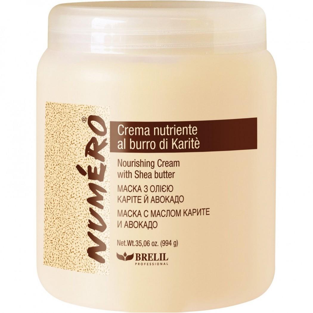 Brelil Маска с маслом Карите и Авокадо KARITE Cream, 1000 млB5069712Brelil KARITE Cream Маска с маслом Карите и Авокадо питательная маска для повреждённых, ослабленных и ломких волос. Это одна из самых новейших итальянских косметических масок, созданная по инновационной технологии компании Brelil. Маска содержит в составе масла авокадо и карите, которые уже долгое время известны своим эффективным воздействием на волосы. Масло Карите, насыщенное жирными кислотами, проникает глубоко в волос, питая его и осуществляя укрепление повреждённых волос. Полезные жирные кислоты, содержащиеся в составе масла, увлажняют кутикулу волоса и кожу головы. Масло авокадо, которое является натуральным средством и получается путём прессования груш авокадо, содержит в себе множество полезных витаминов и микроэлементов, благодаря которым даже самые слабые и ломкие волосы приобретают силу, здоровье и неповторимый замечательный блеск. Маска Брелил Karite Cream является лучшим средством для питания, увлажнения и восстановления волос при химической или термической обработке.