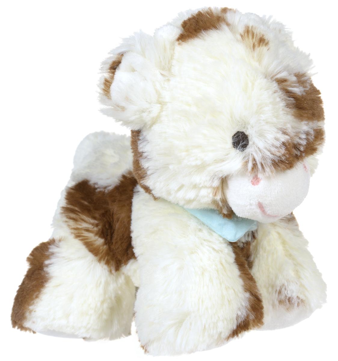 Kaloo Мягкая игрушка Корова 19 смK963004Мягкая игрушка Kaloo Корова надолго станет постоянным спутником вашего малыша. Игрушка выполнена из качественных и безопасных для здоровья детей материалов, которые не вызывают аллергии, приятны на ощупь и доставляют большое удовольствие во время игр. Коровка выполнена в молочном цвете с коричневыми пятнашками. На шее у нее повязан бирюзовый платочек. Игрушку приятно держать в руках, прижимать к себе и придумывать разнообразные игры. Специальные гранулы, используемые при набивке игрушки, способствуют развитию мелкой моторики рук малыша. Игры с мягкими игрушками развивают тактильную чувствительность и сенсорное восприятие. После стирки изделие не деформируется и не меняет внешний вид. Все игрушки Kaloo прошли множественные тесты и соответствуют мировым стандартам безопасности. Именно поэтому игрушки рекомендованы для детей с рождения, что отличает их от большинства производителей мягких игрушек. Дизайнеры Kaloo продумывают и придают...