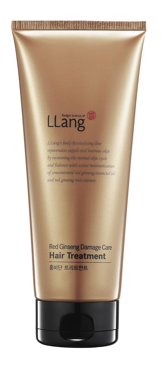 Llang Маска-тритмент для поврежденных волос с красным женьшенем, 200 млPD000720A1Маска-тритмент с экстрактом корня 6-летнего красного женьшеня, маслом жожоба предназначен для интенсивного восстановления и придания жизненной энергии сухим и поврежденным волосам. Экстракт 6-летнего красного женьшеня благотворно влияет на состояние волос, делает их живыми, гибкими и блестящими. Кроме того, средство рекомендовано от преждевременного выпадения волос, оздоравливает кожу головы, избавляет от перхоти и раздражения. Масло жожоба с высоким содержанием витамина Е восстановит тусклые и безжизненные волосы, предотвратит ломкость и образование секущихся концов. Ваши волосы приобретут блеск и яркость, станут мягкими и шелковистыми. Маска Llang Damage Care будет отличным помощником для тех избранниц, которые хотят отрастить длинные красивые волосы. Особо предназначен для окрашенных, сухих и ломких волос.
