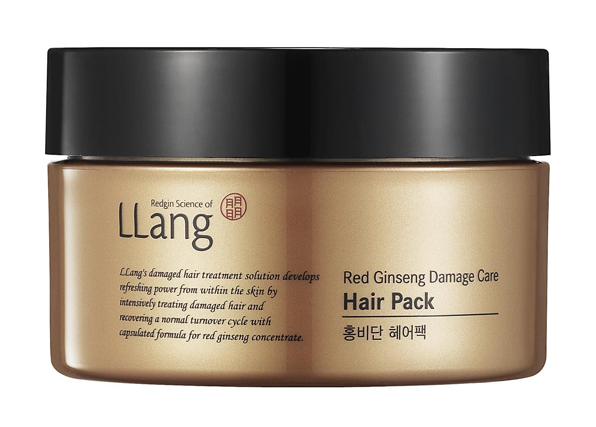 Llang Маска для поврежденных волос с красным женьшенем, 140 мл.PD000721A1Маска для восстановления волос с высокой концентрацией экстракта красного женьшеня и маслом жожоба глубоко питает и увлажняет окрашенные и поврежденные волосы, восстанавливает их эластичность и внутреннюю силу.
