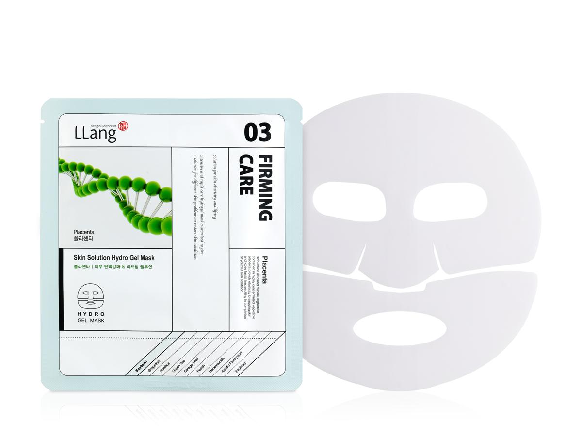 Llang Антивозрастная гидрогелевая маска с плацентой, 25 г